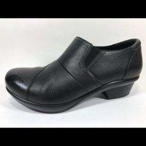 Abeo Carin Leather Clogs Suregrip Work Slip Resist
